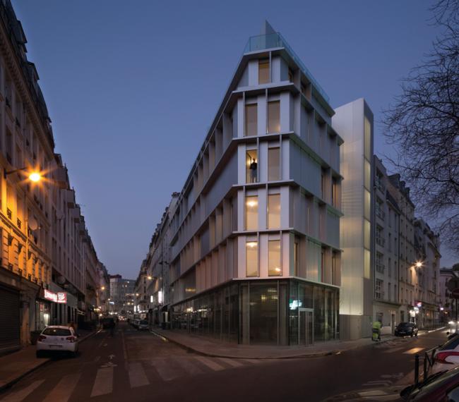 Жилой дом Aluminium Tip (Париж, Франция). Babin+Renaud. Изображение предоставлено WAF