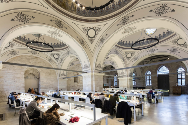 Библиотека Беязыт – реставрация (Стамбул, Турция).  Tabanlıoğlu Architects. Изображение предоставлено WAF