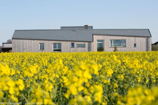 Частный дом в Глогуве (Польша). Blank Architects. Фото © Piotr Krajewski