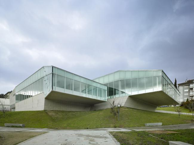 Бассейн кампуса Университета Виго в Оренсе © Roland Halbe