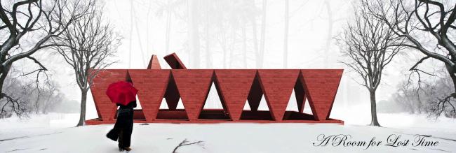 Проект остановочного комплекса A room for lost time. Изображение предоставлено журналом «Проект Балтия»
