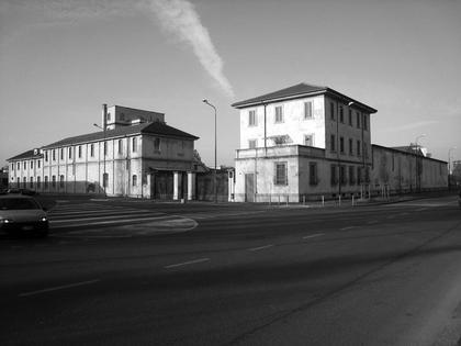 Бывший спиртоводочный завод на Largo Isarco, 2. Современный вид