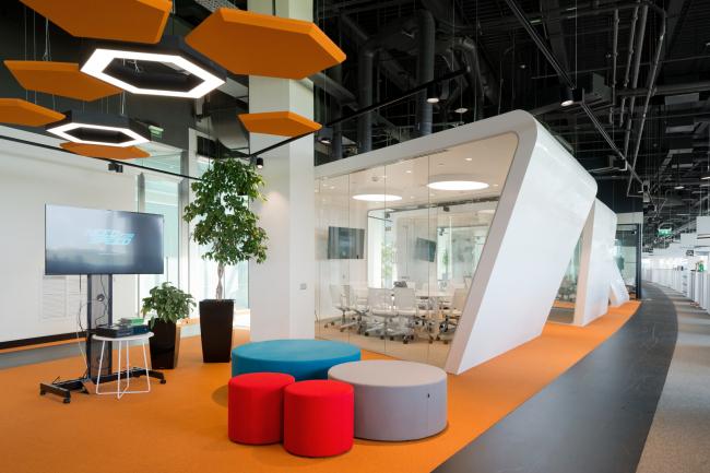 Офис Adidas HOME OF SPORT.  ABD architects. Фотография предоставлена ассоциацией MCFO