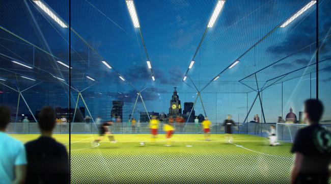 Многоярусное футбольное поле Pitch/Pitch © AL_A