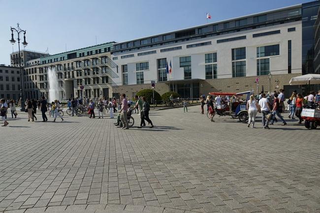 Посольство Франции в Германии. Фото: Zulieferer via Wikimedia Commons. Лицензия CC-BY-SA-3.0