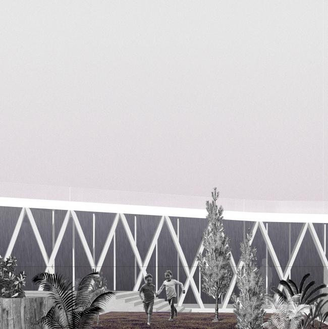 Парк в Империи. Дипломный проект Дарьи Носовой. Руководители: Александр Цимайло и Николай Ляшенко. 15 группа. МАРХИ, 2016