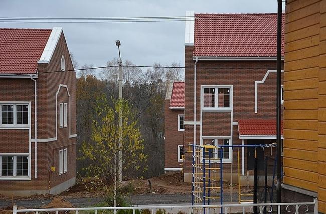 Поселок дуплексов Зеленоградский. Фотография предоставлена Wienerberger