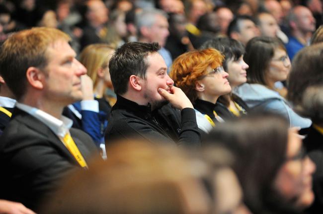 Аудитория лекционной программы Всемирного архитектурного фестиваля WAF 2016 © WAF 2016
