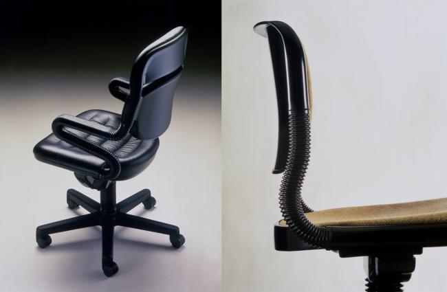 Vertebrae chair © Emilio Ambasz, 1974-1975