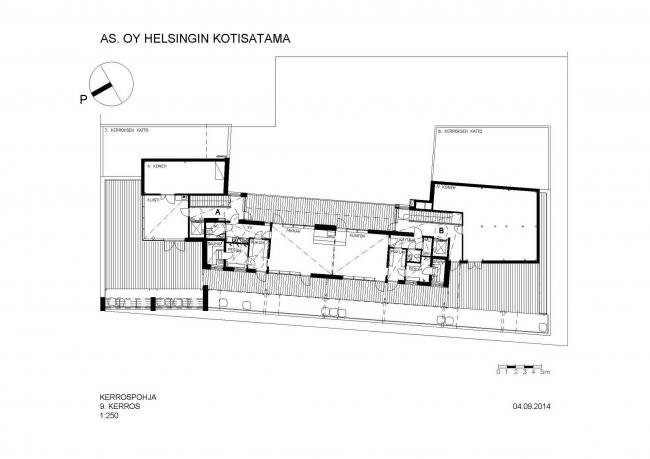 Жилой комплекс «Котисатама» © Kirsti Sivén & Asko Takala Arkkitehdit Oy