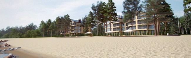 Жилой комплекс «Первая Линия. Life Energy Resort». Фотография с сайта www.lumon.com
