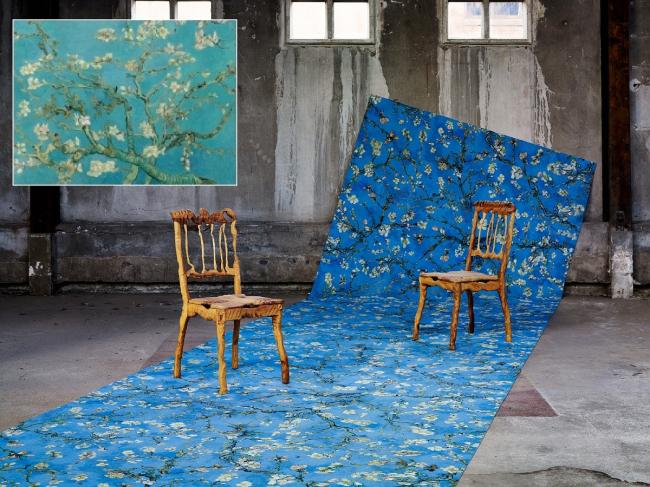 Вдохновение Ван Гога. Цветущая ветка миндаля. Фотография с сайта www.forbo.com