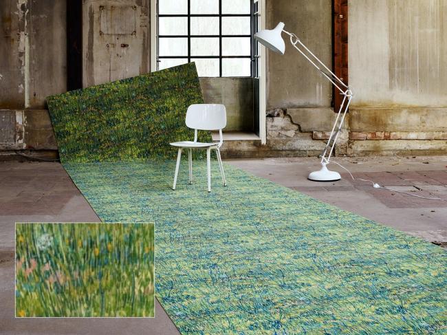 Вдохновение Ван Гога. Цветущий луг  Фотография с сайта www.forbo.com