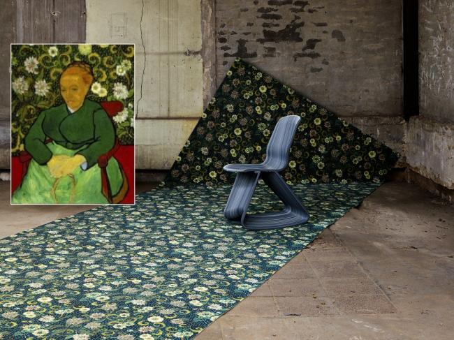 Вдохновение Ван Гога. Портрет Августины Рулен. Фотография с сайта www.forbo.com
