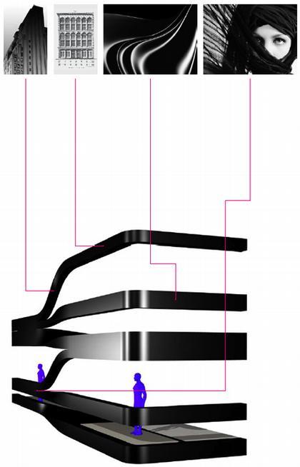 5 Франклин Плэйс. Разработка решения фасада