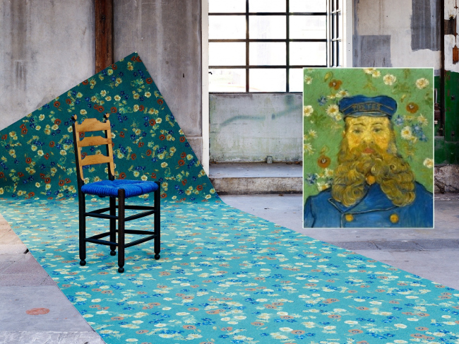 Вдохновение Ван Гога. Портрет Почтальона. Фотография с сайта www.forbo.com