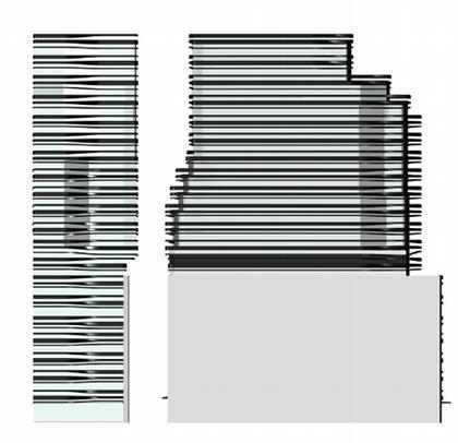 5 Франклин Плэйс. Фасады