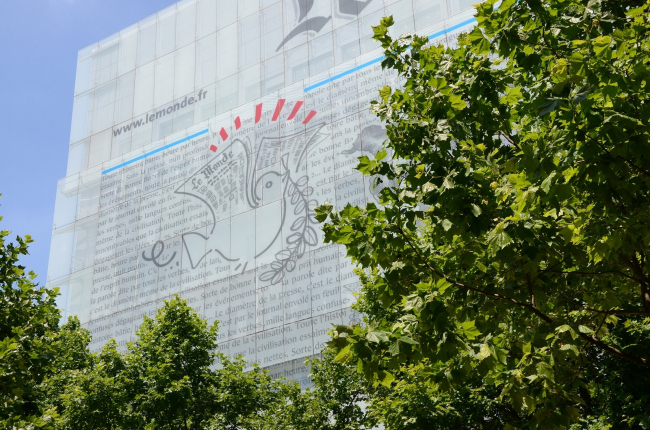 Штаб-квартира Le Monde. 2005. Фото: Franck Schneider via Wikimedia Commons. Лицензия CC BY 2.0
