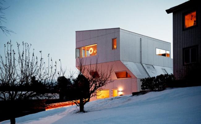 «Вежливый дом». Фотография ©  Lars Evanger. Предоставлено EQUITONE