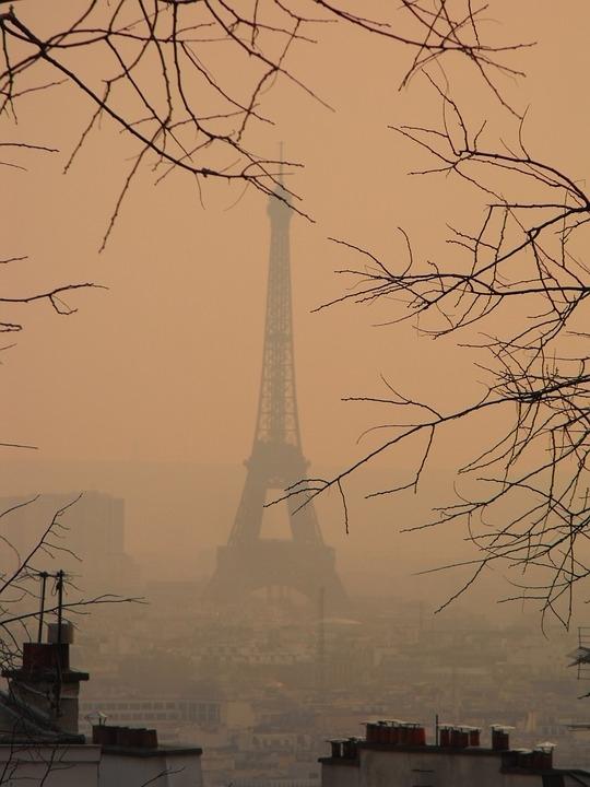 Париж. Фотография находится в публичном доступе