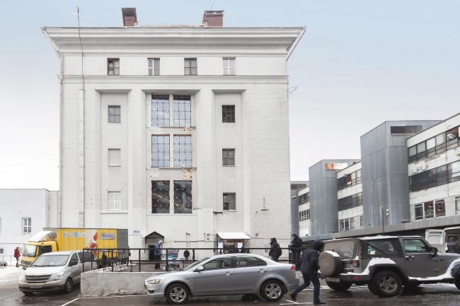 Предмет конкурса – строение 3 комбината «Правда». Фотография предоставлена Агентством «ЦЕНТР»