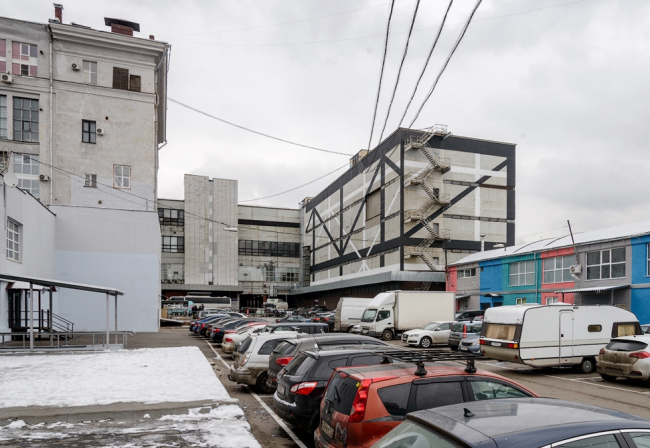 Предмет конкурса – строения 3 и 7 комбината «Правда». Фотография © Василий Бабуров