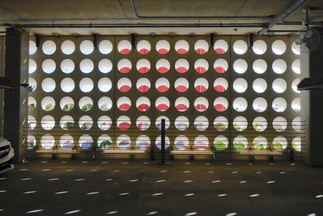 Комплекс Faena District. Автоматизированный гараж Faena Park © Philippe Ruault