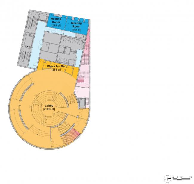 Комплекс Faena District. Арт-центр Faena Forum © OMA