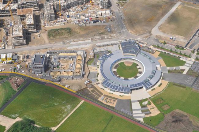 Начальная школа Кембриджского университета © North West Cambridge Development