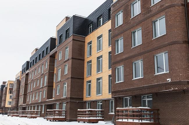Жилой квартал Мишино. Фотография с сайта www.мишино.рф