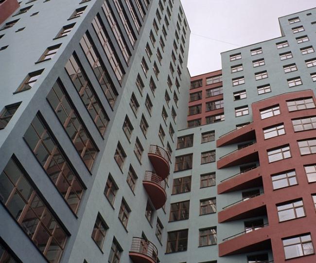 Жилой дом на улице Хачатуряна © Мастерская архитектора Б.А. Шабунина
