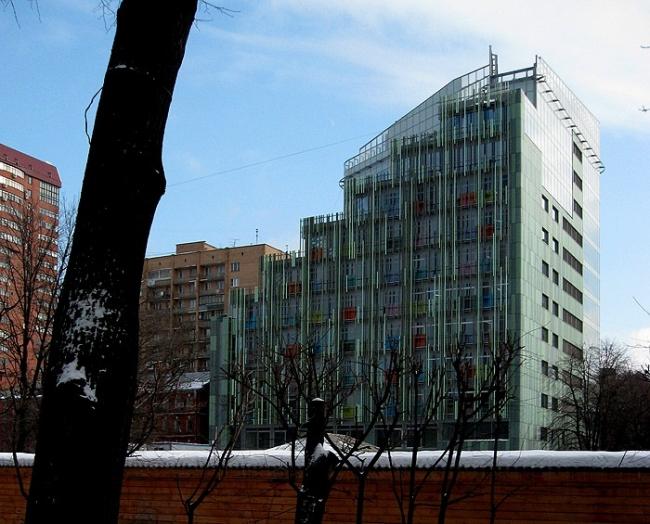 Административно-гостиничное здание в Ботаническом переулке © Попов и архитекторы