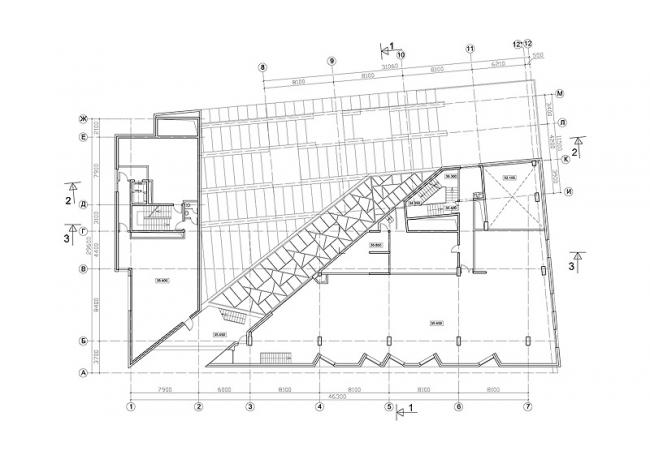 Торгово-коммерческий комплекс «Диагональ-хаус» на Бутырской улице © Лаборатория виртуальной архитектуры