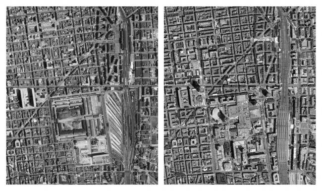 Пар-Дьё: ситуация в начале проекта (1962 г.) и по его окончании.