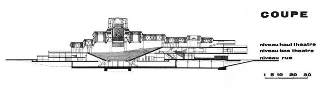 Дворец культуры Пар-Дьё. Арх. Поль Шеметов / AUA. 1959-1966 гг.
