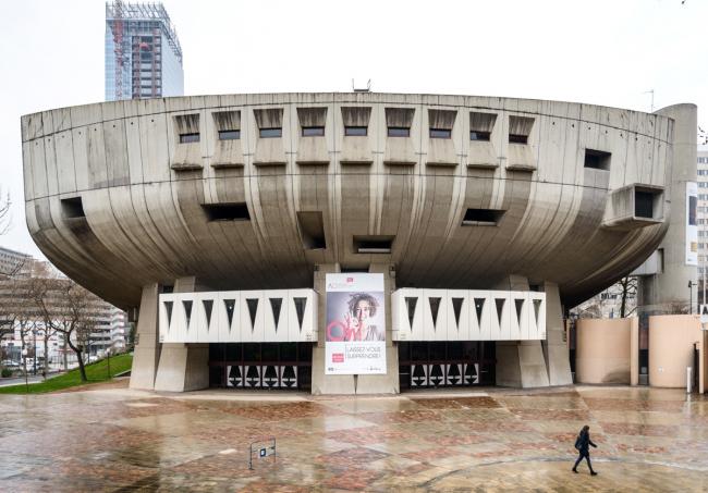 Концертный зал имени Мориса Равеля. Арх. Шарль Дельфант, Анри Поттье, 1975 г. Фото: © Василий Бабуров