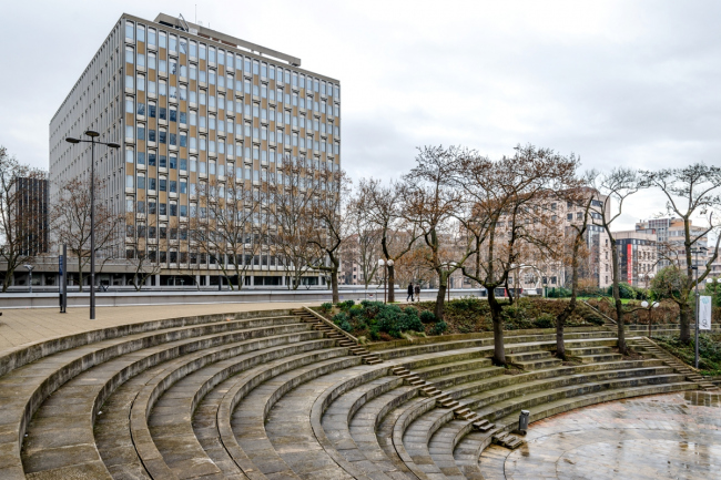 Административный комплекс [cité administrative]. Фото: © Василий Бабуров