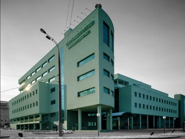 Здание Московского банка Сбербанка РФ © Творческая архитектурная мастерская Ю. Баданова