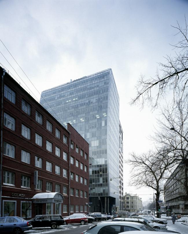 Административное здание, 1-ая Брестская улица © АБ Остоженка