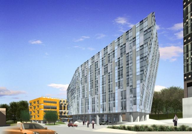 Бизнес-центр «Силвер Сити». Проект © А-Б (Арт-Бля)