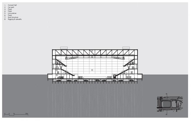 Концерт-холл Ziggo Dome © Benthem Crouwel Architects