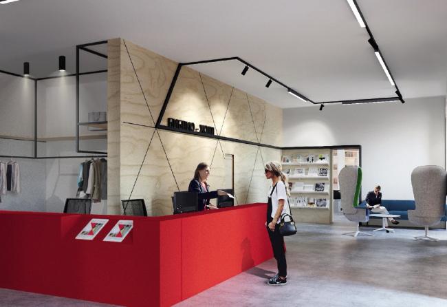 Концепция модернизации библиотек Московской области. GaFA + IND architects (Москва). Изображение предоставлено пресс-службой Главархитектуры МО