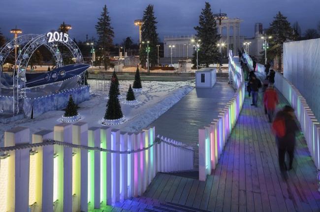 Деревянный мост на ВДНХ © Ai-architects. Предоставлено Москомархитектуры