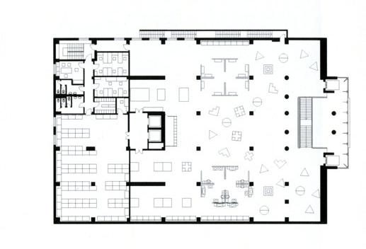 Торговый дом «Домино». План 3-го этажа © А-Б (Арт-Бля)