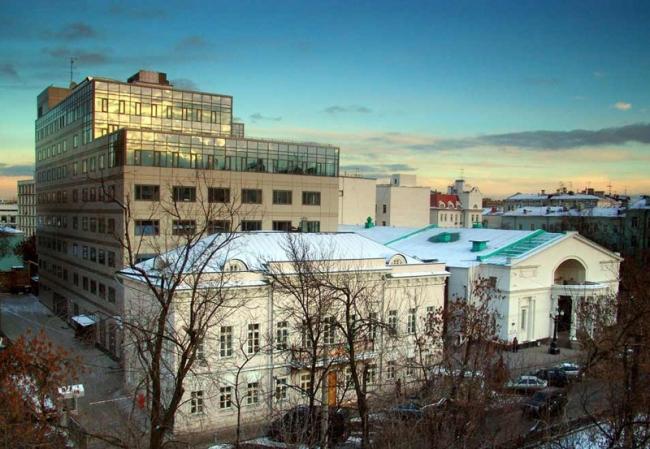 Культурно-деловой центр с малой сценой театра «Современник» © Архитекторы Асс