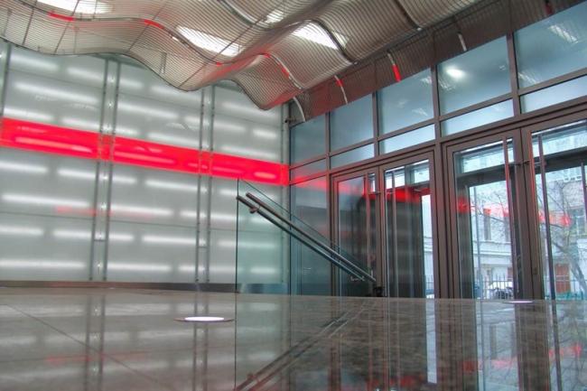 Культурно-деловой центр с малой сценой театра «Современник». Вестибюль © Архитекторы Асс