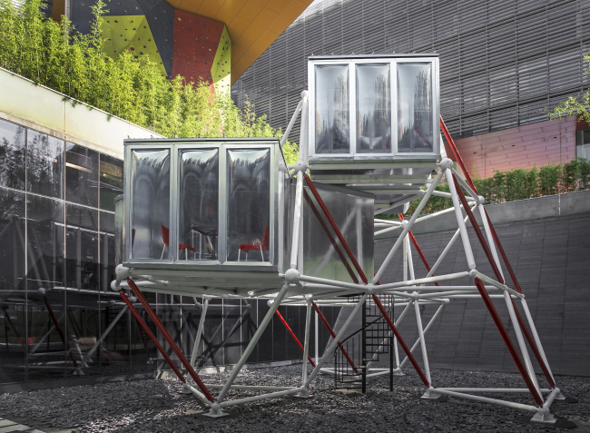 Plugin Tower, реализация © People's Architecture Office,Hannah Wu