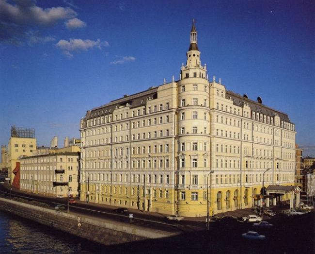 Отель «Балчуг Кемпински Москва» © Архитектурная мастерская № 19
