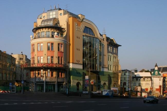 Торговый центр «Наутилус». Фотография © Николай Малинин