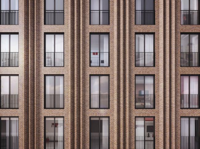 Жилой комплекс ЗИЛАРТ (лот №6). Проект, 2016 © SPEECH